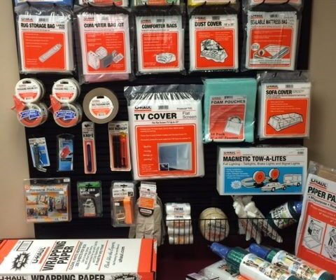 UHaul Boxes & Supplies | AAA Mini Storage